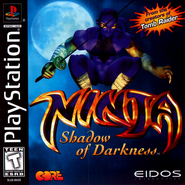 Ninja - Shadow of Darkness [NTSC-U] Front Cover